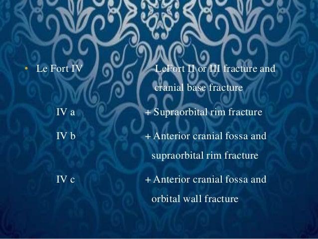 Rim Fracture Supraorbital Rim Fracture