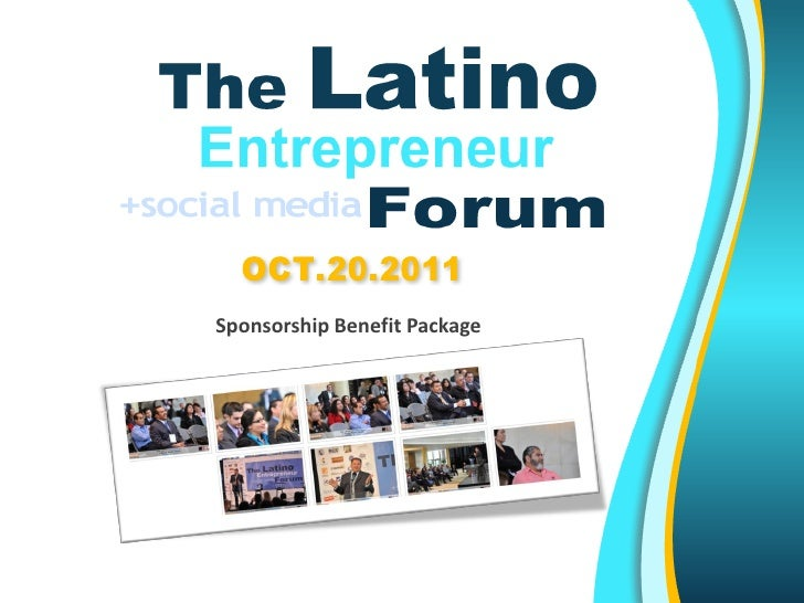 LatinoEF.comSponsorship Benefit Package