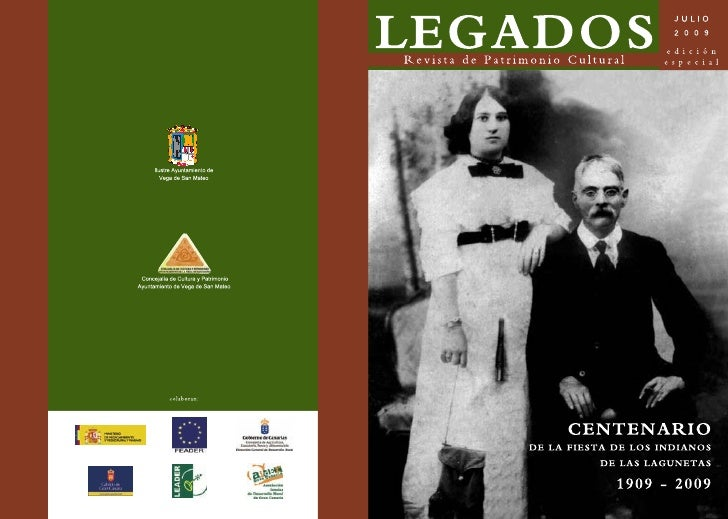 LEGADOS         Revista de Patrimonio Cultural                  Publicación semestral              edición especial - juli...