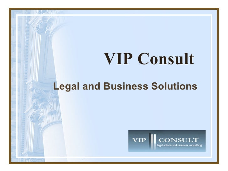 Legal Advice and Business Consulting