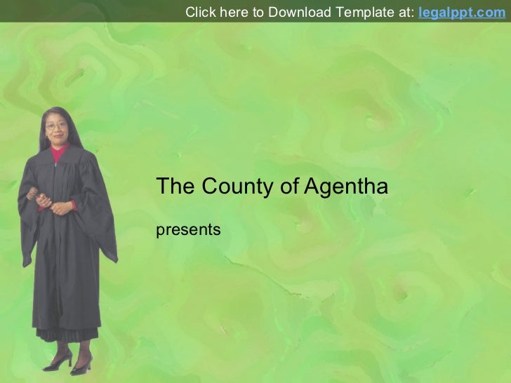 Judge PPT Template for PowerPoint Presentation