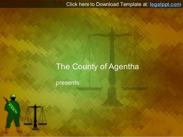 Military Law PPT Template for PowerPoint Presentation