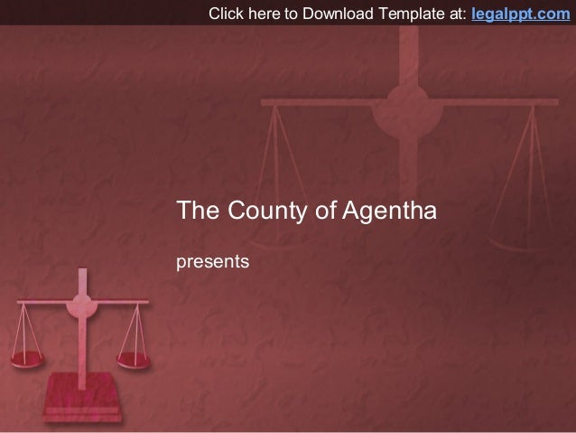 Scales of Justice PowerPoint Presentation Background Design