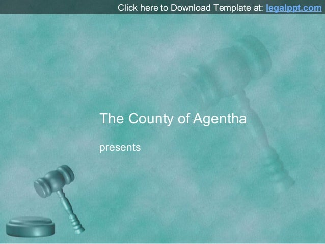 Free Gavel Design for PowerPoint Presentation Background