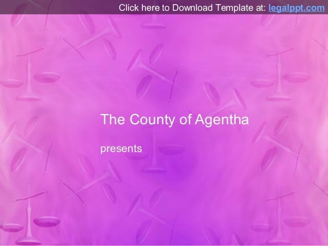 Microsoft PowerPoint Template - Scales Pattern