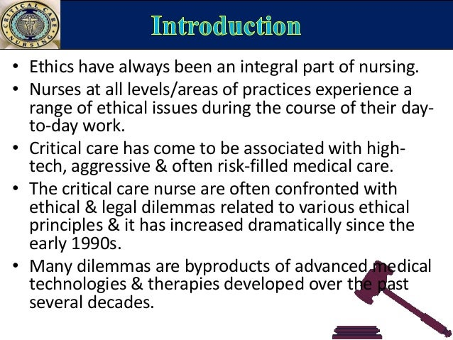 Ethical issues in Neonatal Nursing, need guidance?