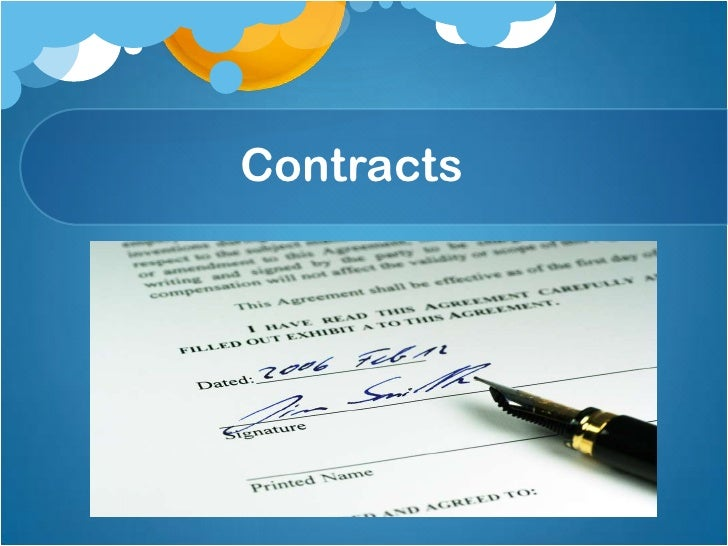 Contractual assignment