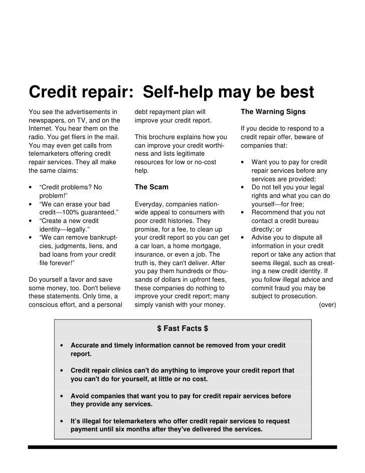 Legal Credit Repair Services