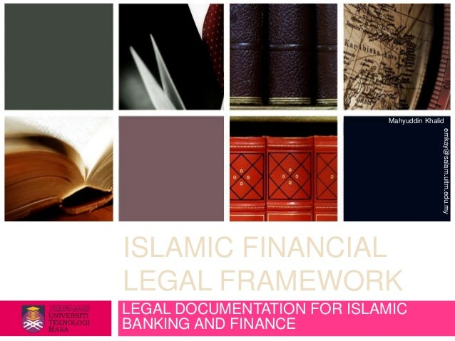 Legal Documentation for Islamic Banking and Finance
