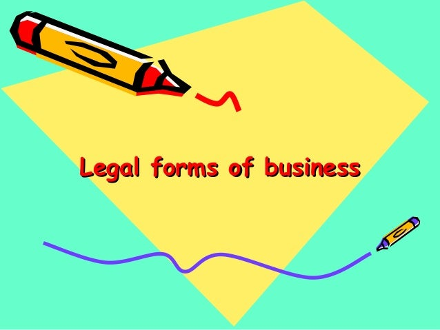 legal forms of business essay