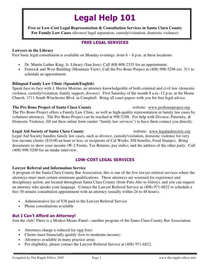 Legal Help Divorce