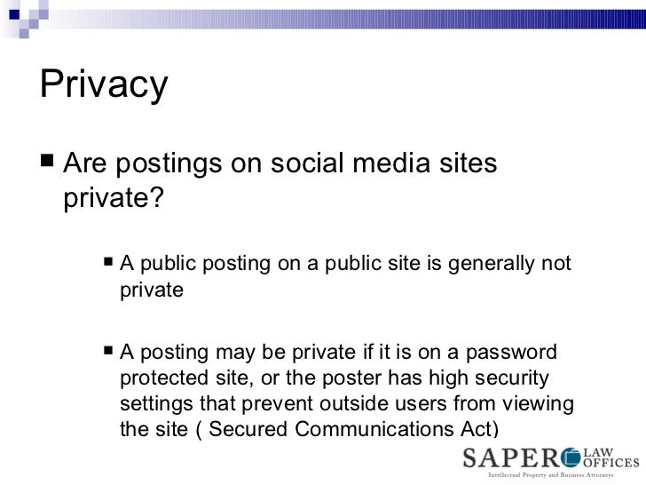 essay on social media privacy Social network impact on youth social media is a term used to they usually neglect to read carefully websites' privacy an essay sanple on social.