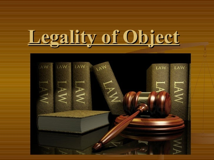 Legality of object-7