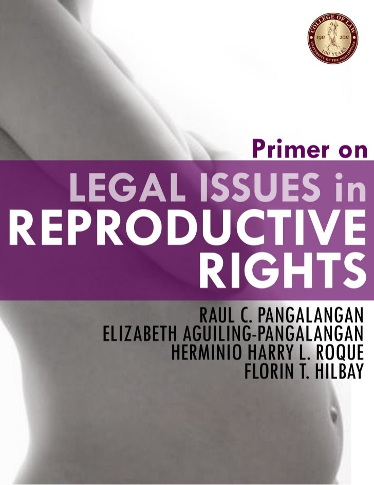 UP Legal Primer on Reproductive Rights