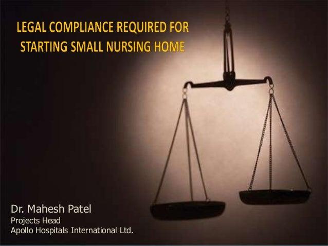 25-02-2013 1Dr. Mahesh PatelProjects HeadApollo Hospitals International Ltd.