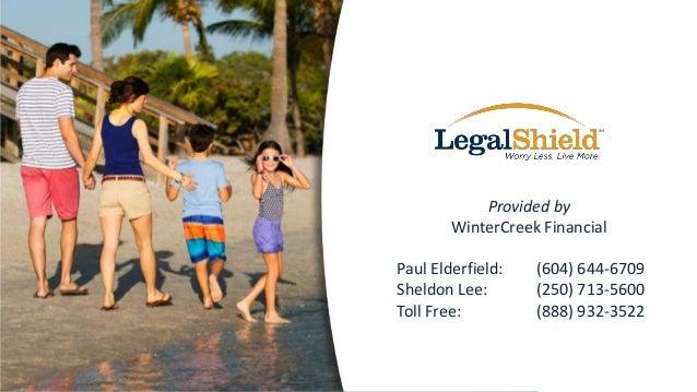Provided by WinterCreek Financial Paul Elderfield: Sheldon Lee: Toll Free:  (604) 644-6709 (250) 713-5600 (888) 932-3522