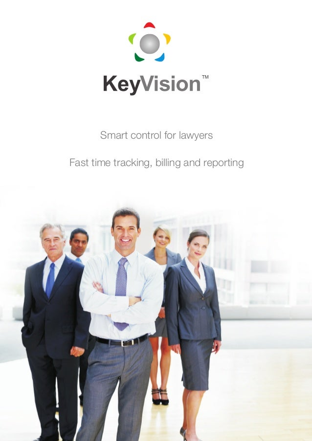 Smart control for lawyersFast time tracking, billing and reporting