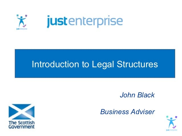 Legal structures presentation