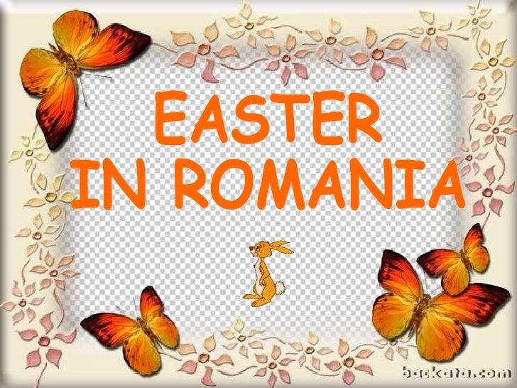 EASTER  IN ROMANIA