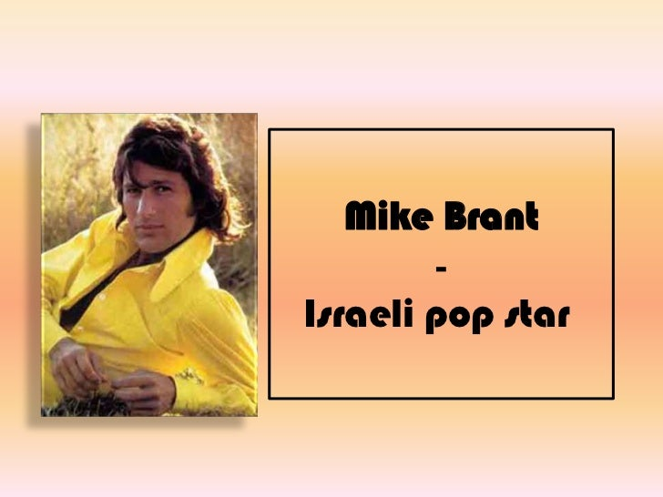 Mike Brant1947-1975Israeli pop star<br />