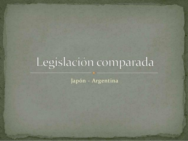 Japón - Argentina