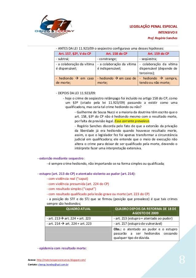 Artigo 158 cp