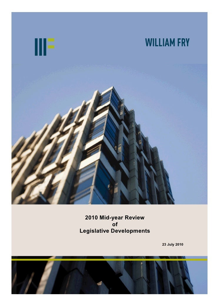 Legislation Developments   William Fry