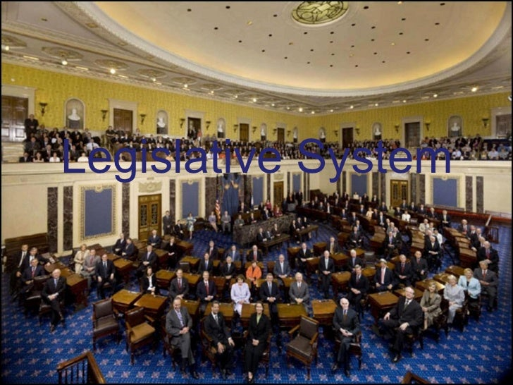 Legislative branch presentation