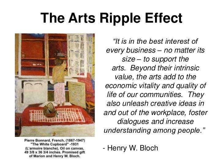 The Arts Ripple Effect