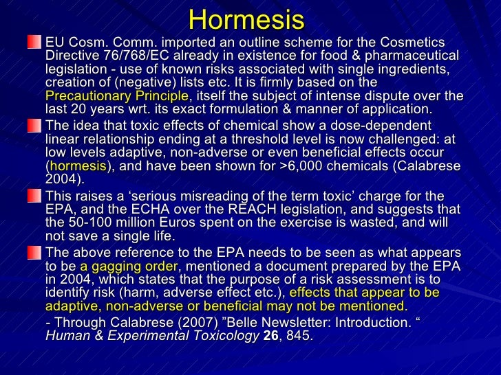 hormesis and its relationship with homeopathy definition