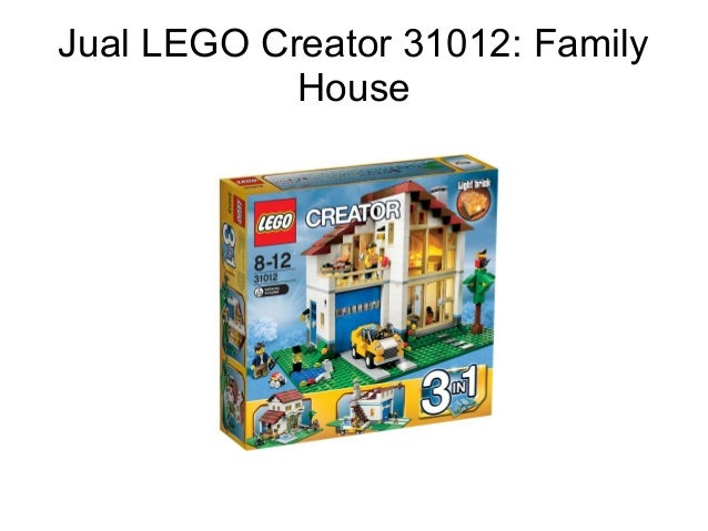 Lego Creator 31012 Family House 5987464 World Gtafo