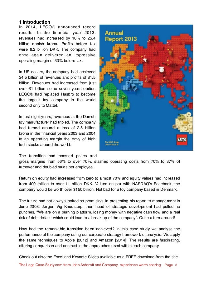 the lego group case study essay View essay - the lego group case studyrunning head: the lego group case study 1 need a similar copydrop me an email: gkmusyoka1@gmailcom the lego group.