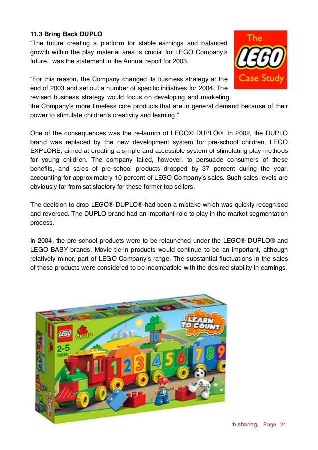 lego case study 2014 Essay about lego case lego case study 2012 profit for the year the lego group's profit for the year the revenue in 2014 decreased by 356% while the.