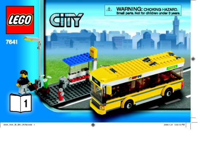 lego city anleitung bus ab seite 38 4560080. Black Bedroom Furniture Sets. Home Design Ideas