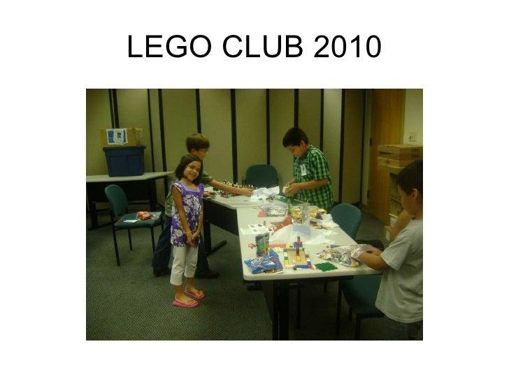 Lego club oct 17 meeting