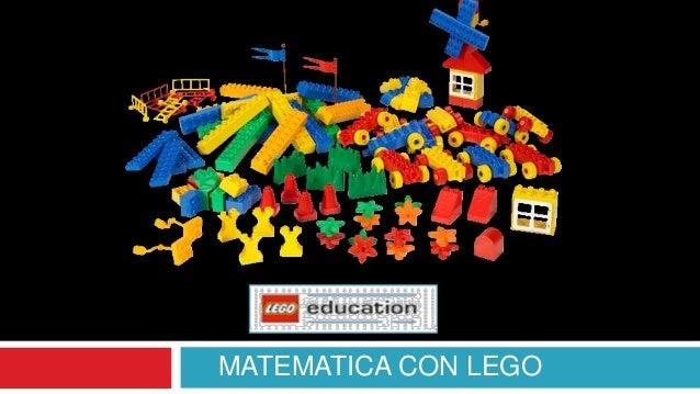 MATEMATICA CON LEGO