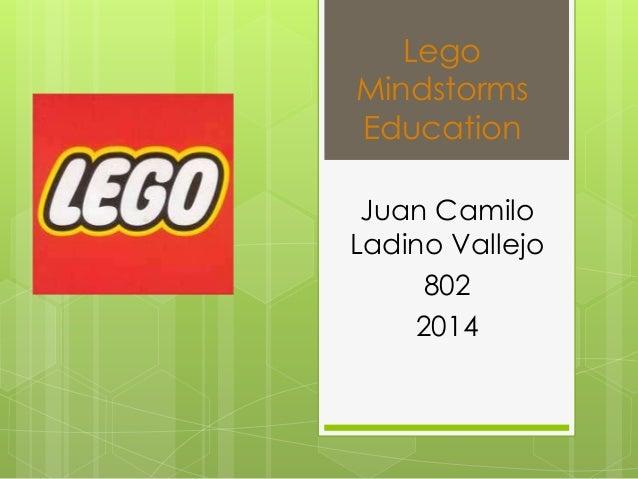 Lego  Mindstorms  Education  Juan Camilo  Ladino Vallejo  802  2014