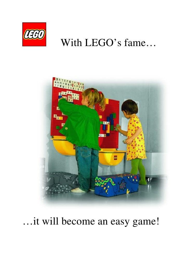 LEGO play area brochure