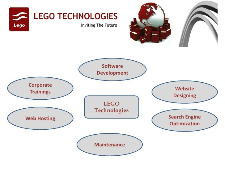 LEGO Technologies Software Development Website Designing Search Engine Optimization Maintenance Web Hosting Corporate Trai...