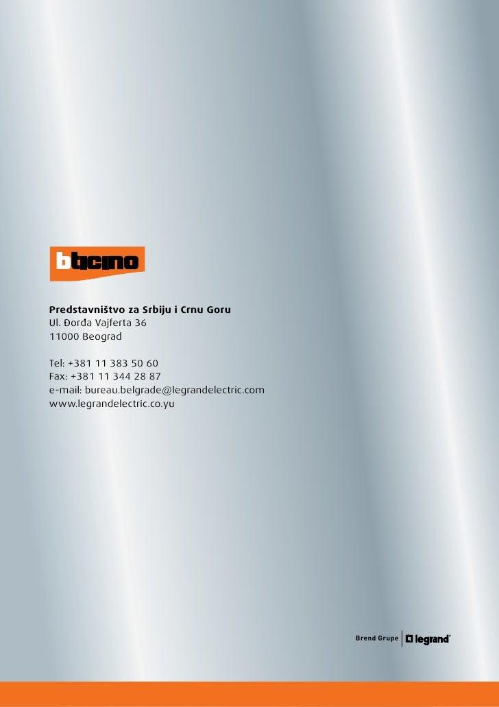 Legrand Bticino Katalog   Living Light Light Tech
