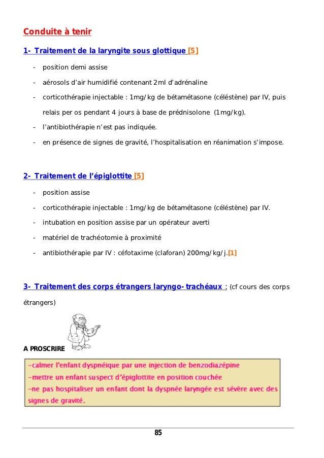 Laryngite traitement prednisolone / Prednisolone dopage effets