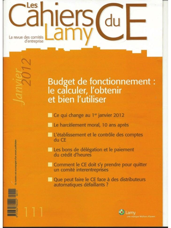Le HarcèLement Moral 10 Ans AprèS Cahiers Lamy Du Ce