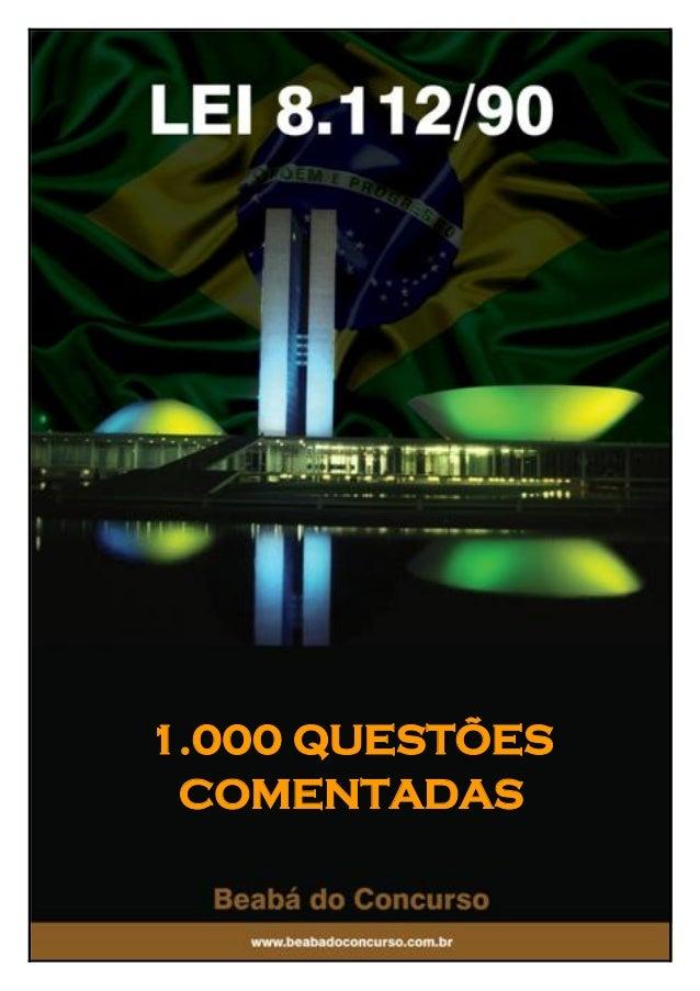 1.000 QUESTÕES COMENTADAS  1