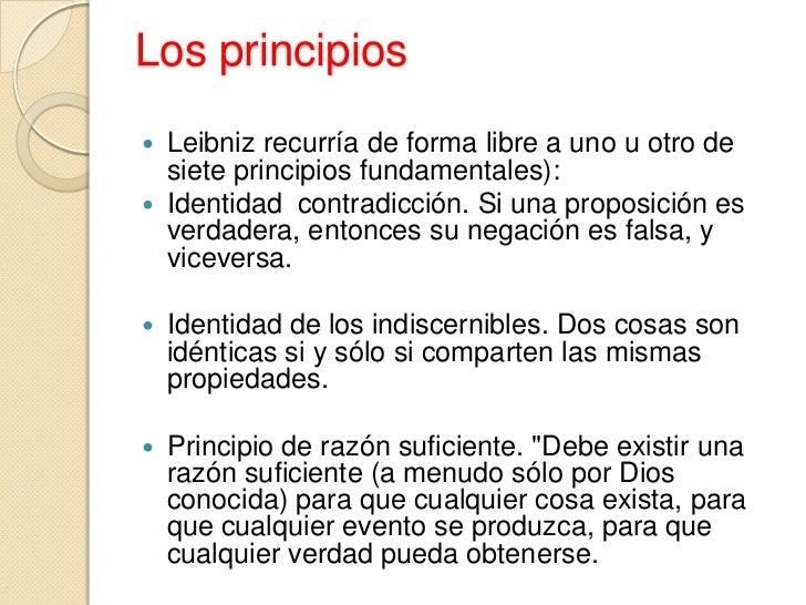 Resultado de imagen para leibniz PRINCIPIO DE LA RAZON SUFICIENTE RELATIVIDAD
