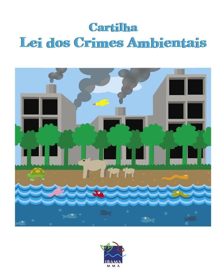 CartilhaLei dos Crimes Ambientais