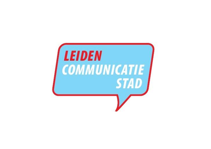 LEIDEN COMMUNICATIE        STAD