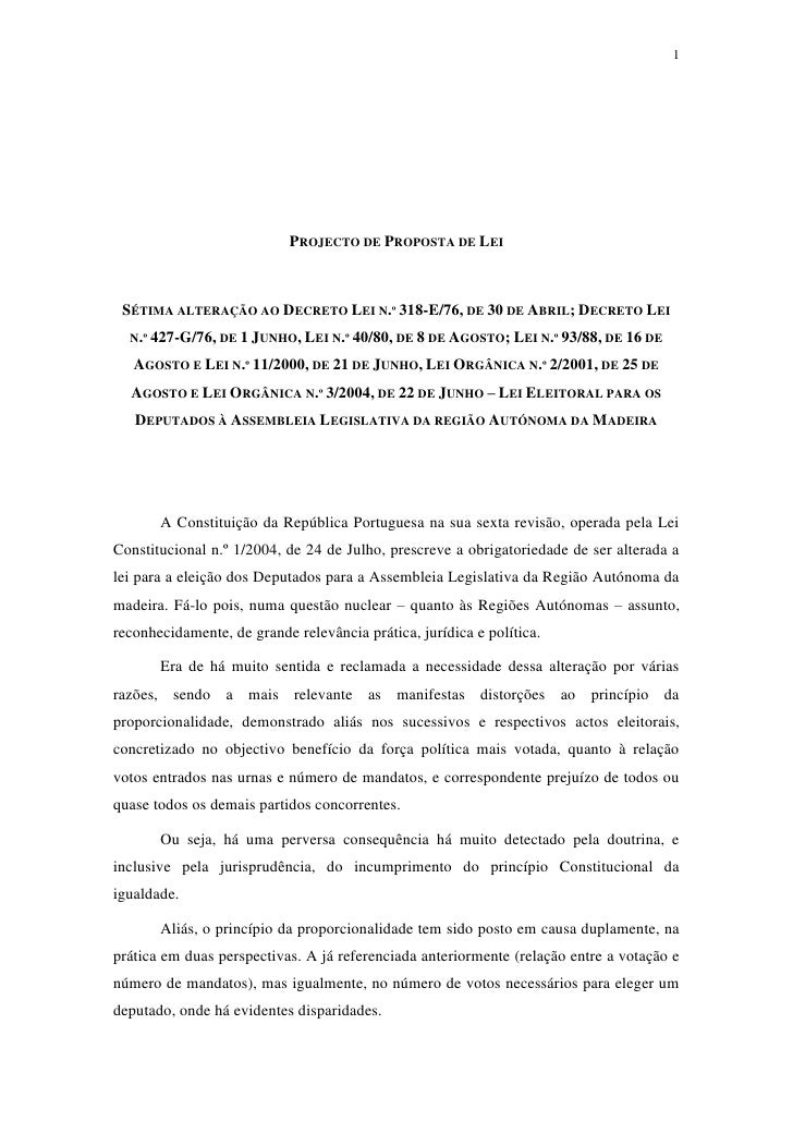 Lei eleitoral projecto-psm
