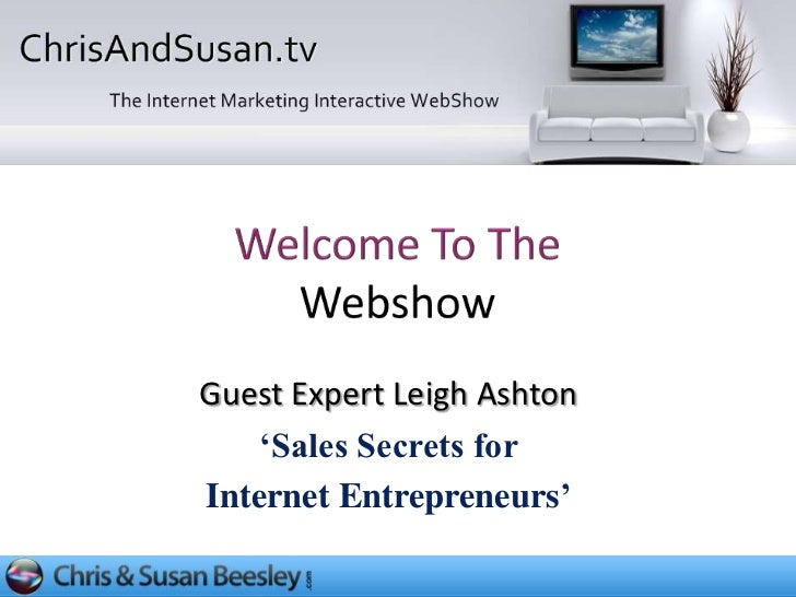 Sales Secrets For Internet Entrepreneurs