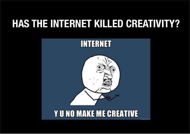 RPM Creative - PechaKucha 28/02/13 - Has the Internet killed creativity?