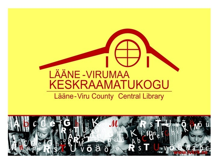 Wheich Trends to Follow Marketing Public Library/Public Library Services (Based on the Example of Lääne-Vire County Central Library)